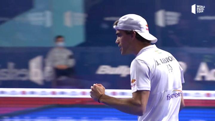 Resumen semifinal Galán - Lebrón Vs Chingotto - Tello del Estrella Damm Alicante Open