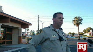 Las Vegas police investigate suspicious package at shopping center