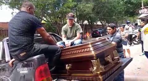 Retiran cuerpo de hombre atropellado en la carretera CA-5