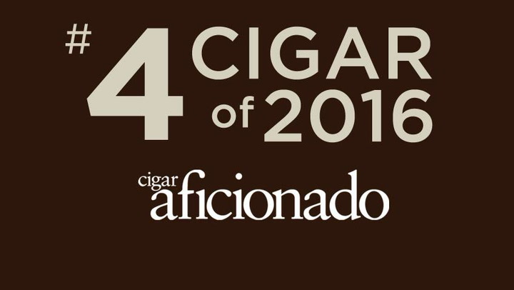 No. 4 Cigar of 2016