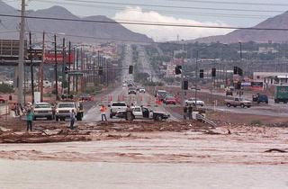 Regional Flood Control District recalls July 8, 1999 flood