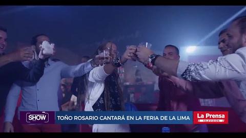 Show, resumen del 1-8-2018. Toño Rosario cantará en la feria de La Lima