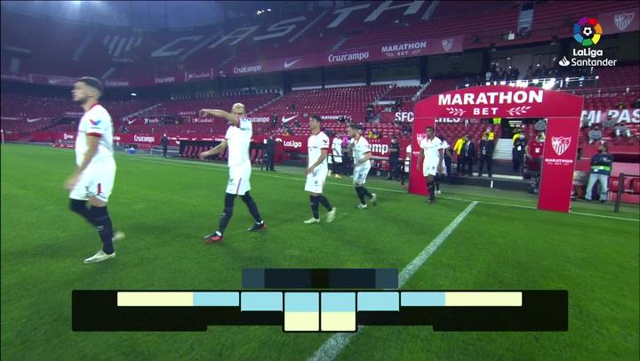 LaLiga (J10): Resumen y goles del Sevilla 4-2 Celta