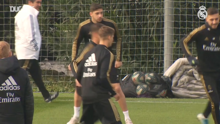 Carvajal, Varane, Areola and Valverde return to full training