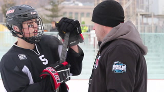 Duluth East prepares for Hockey Day Minnesota
