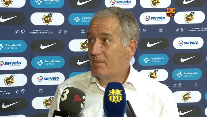 Andreu Plaza analiza la victoria del Barça sobre el Inter Movistar