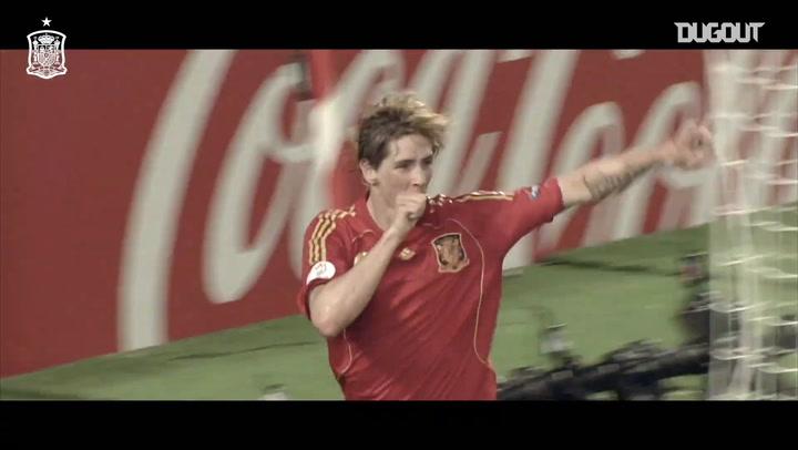 Fernando Torres' Euro 2008 winning goal vs Germany
