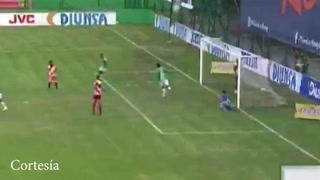 Marathón anota el 1-0 ante el Vida en el estadio Yankel Rosenthal