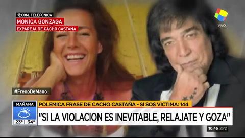 Mónica Gonzaga dijo que a Cacho Castaña lo sacaron de contexto