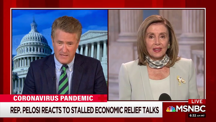 Pelosi on Coronavirus Relief: 'Everything I Do Is About the Children' -- 'I Have Advice for Them Whether They Want It or Not'