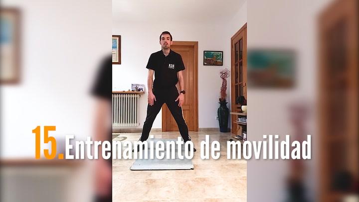 ENTRENA EN CASA (15): Entrenamiento de movilidad