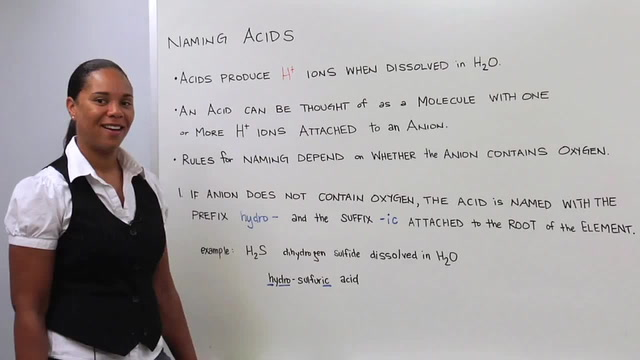 Naming Acids