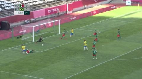 Brasil se toma revancha de México y pasa a la final del fútbol olímpico masculino