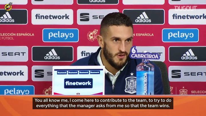 Koke: 'Being Spain's captain is something that I'll never forget'