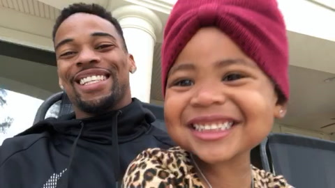 AJ Bouye Gives Thanks For His Baby Girl