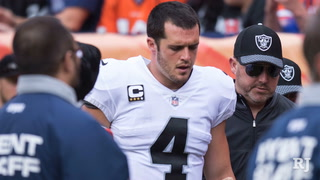 Derek Carr is optimistic he can play in week 5