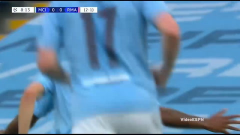 Manchester City 2-1 Real Madrid (Champions League 2020)