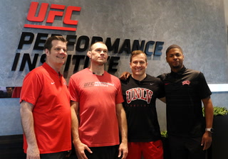 UNLV Goes to UFC During Runnin' Rebel Caravan Tour – Video