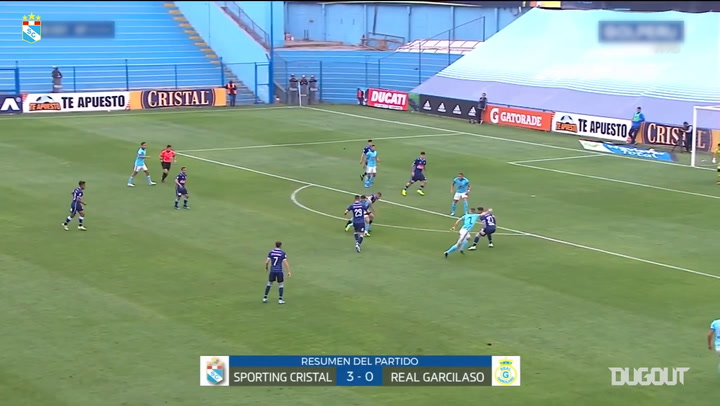 Sporting Cristal score three past Real Garcilaso
