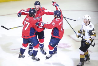 Golden Edge: Knights Lose Game Four 6-2 Against Capitals