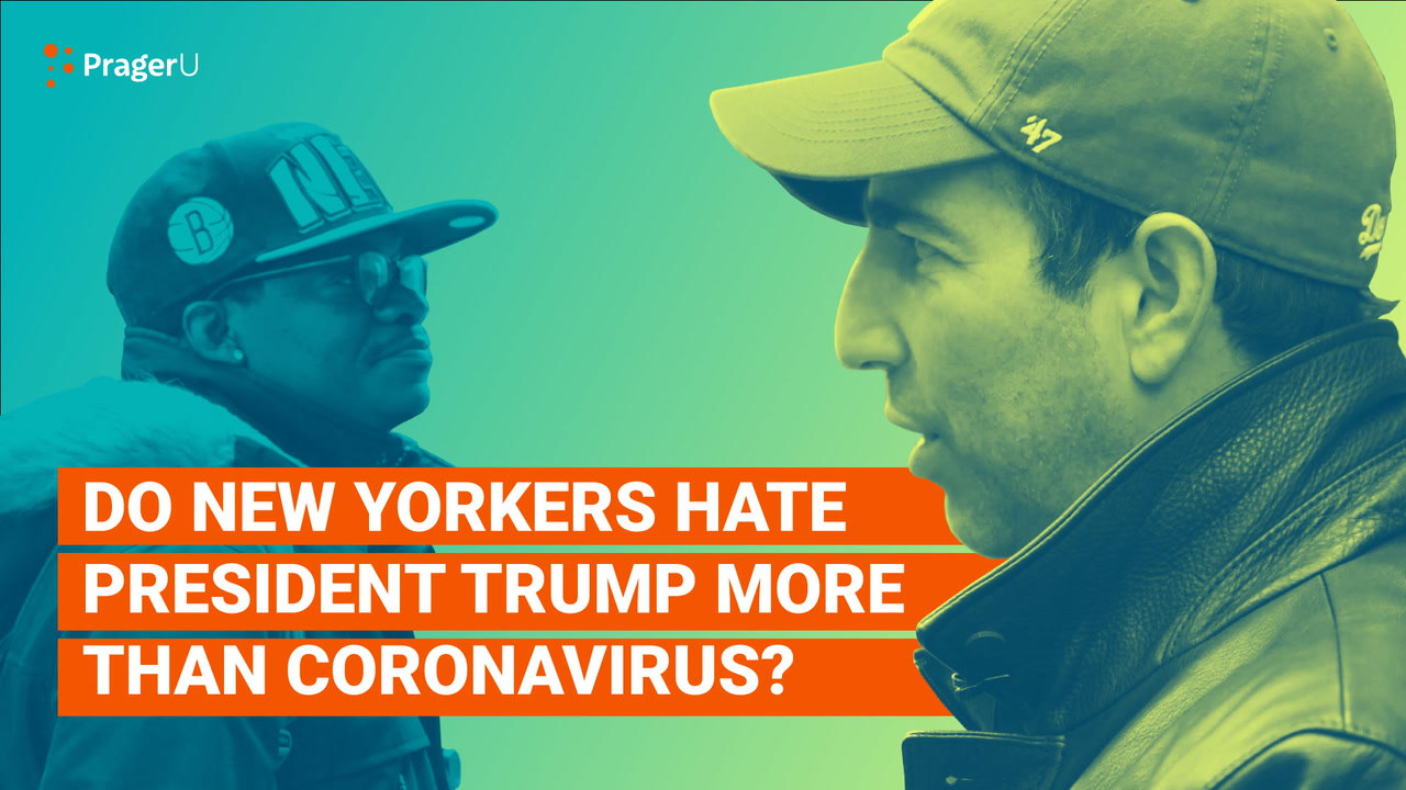 Do New Yorkers Hate President Trump More Than Coronavirus?