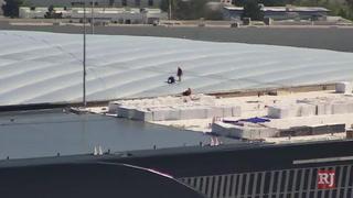 Allegiant Stadium roof install is complete – Video