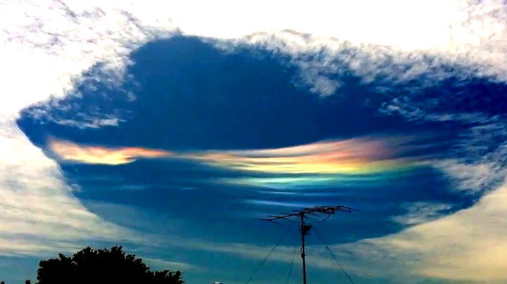 En skikkelig merkelig sky