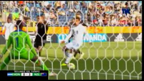 Honduras encaja una manita de Nueva Zelanda en su debut en el Mundial Sub-20