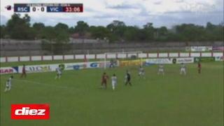 Rony Martínez anota de penal para Real Sociedad y Victoria rápidamente reacciona con un gol de Andrés Rentería