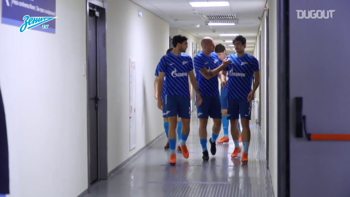 Bastidores da vitória do Zenit sobre o Krylia Sovetov