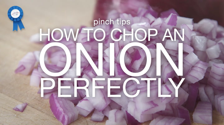 pinch tips: How to Chop an Onion Perfectly