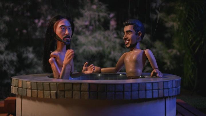 Puppet Hot Tub Aftershow Episode 5: Steve Aoki