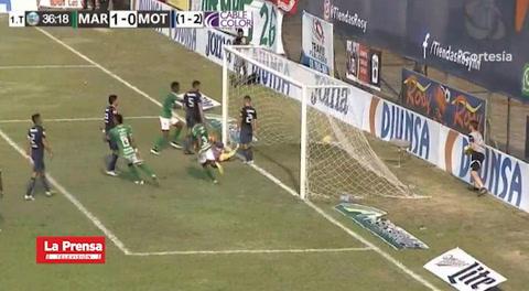 Marathón 2-0 Motagua