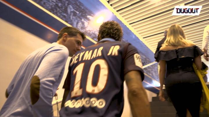 Neymar Lands in Paris: Photoshoot Time