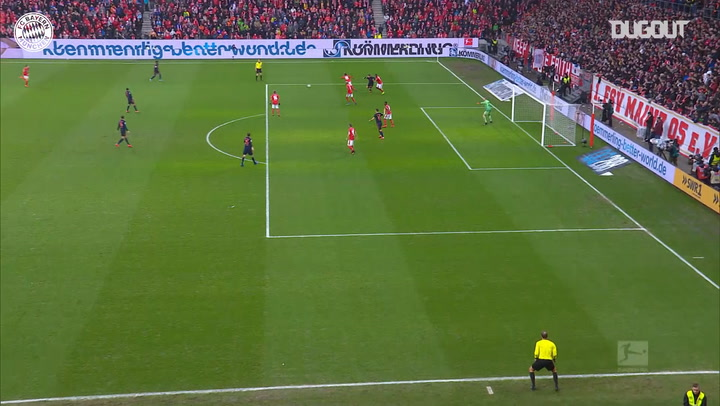 Thiago's skilful strike against FSV Mainz 05