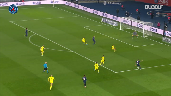 Kylian Mbappé's incredible backheel goal against FC Nantes