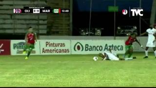 Eddie Hernández cayó en el área y Olimpia reclama penal| Cortesía
