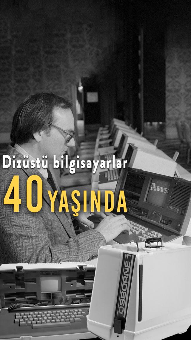 Dizüstü bilgisayarlar 40 yaşında