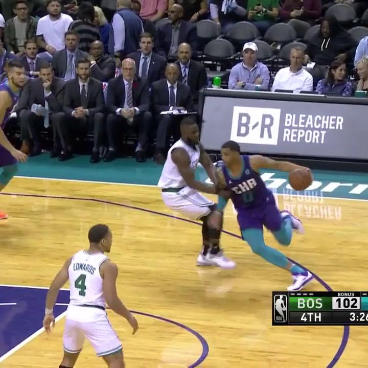 El partido de Willy Hernangomez (Charlotte Hornets) ante los Celtics