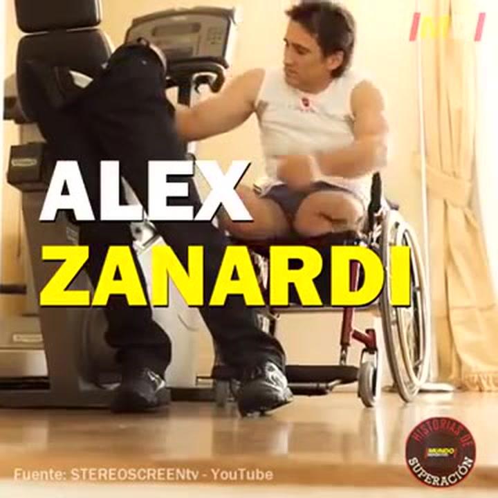 Historias de Superación Alex Zanardi