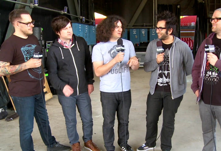Festivals: Warped Tour 2013: More Warped Memories Motion City Soundtrack's Humble Beginnings