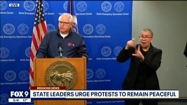 MN Gov. Walz: We Estimate 80% of the Rioters Are from out of State