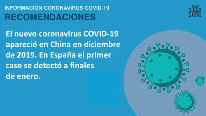 Estas son algunas de las recomendaciones del Ministerio de Sanidad como prevención del Coronavirus