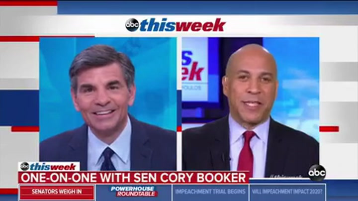 Cory Booker to GOP Senators: 'History Has Its Eyes on Us,' Don't Cave to Tribalism