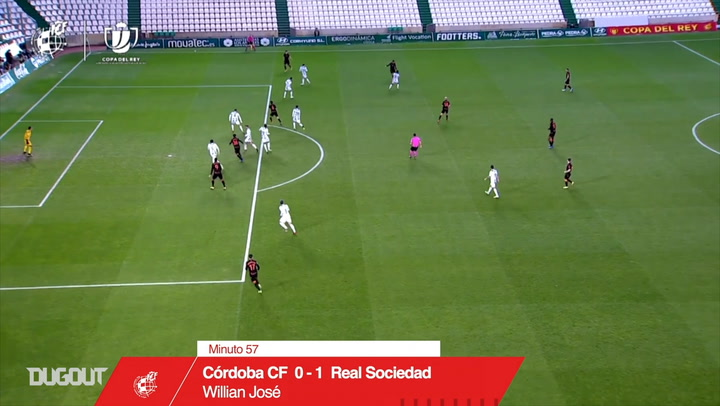 Willian José's brace vs Córdoba