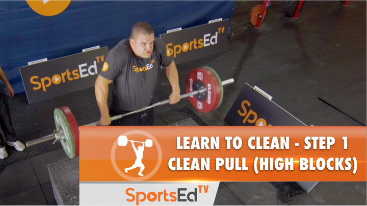 Learn To  Clean - Step 1 - Clean Pull (High Blocks)