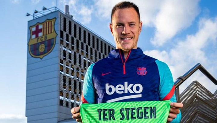 El emotivo mensaje de Ter Stegen a los culés tras su nueva plusmarca