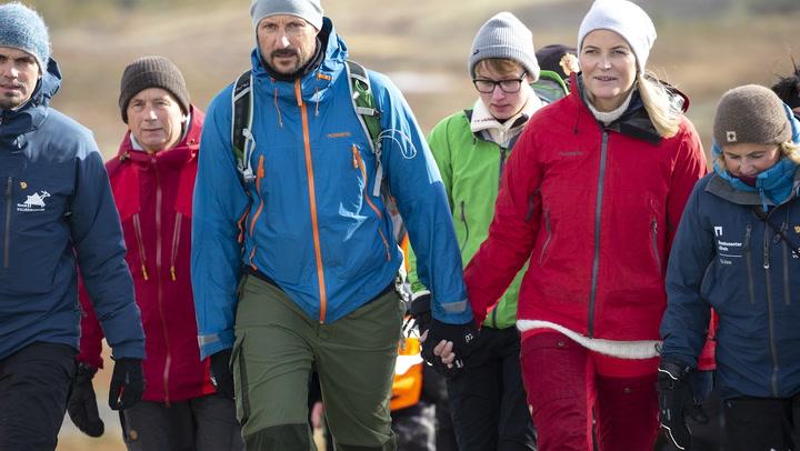 Haakon y Mette-Marit de Noruega, dos excursionistas en la corte nórdica