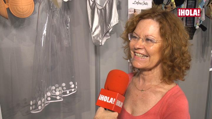 Dolores Cortés: \'Contar con la top Ana Beatriz Barros ha sido un gran aliciente para nosotros\'