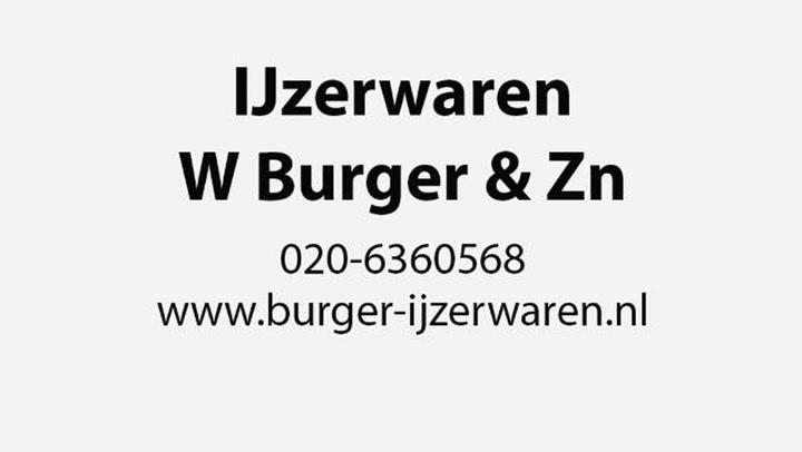 IJzerwaren W Burger & Zn